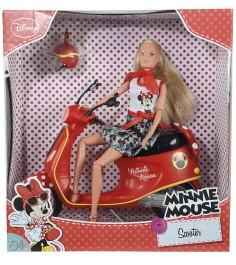 Steffi love Minnie Mouse на мопеде 5748641