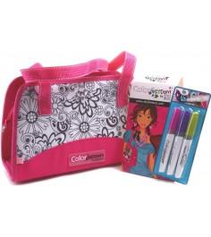 Style Me Up Роскошная розовая сумочка 1811