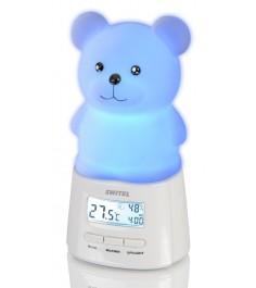 Ночник с термометром и гигрометром Switel BC160