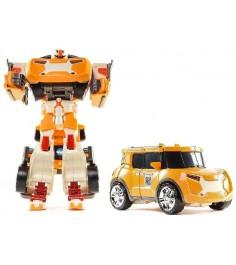 Трансформер Tobot Evolution X с наклейками и ключом-токеном 301008