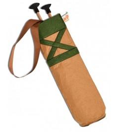 Деревянное оружие Три богатыря Колчан зеленый и 2 стрелы для лука ТБ-013-2