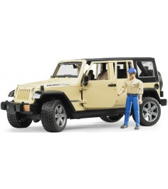 Jeep Wrangler Unlimited Rubicon Bruder 02-525
