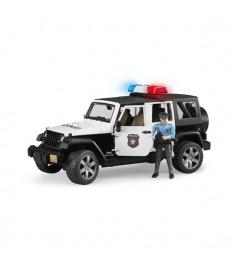 Полицейский джип Jeep Wrangler Unlimited Rubicon с фигуркой 02-526