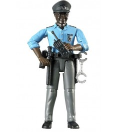 Фигурка африканского полицейского с аксессуарами Bruder 60-051