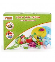 Набор для лепки Color Puppy спелые фрукты