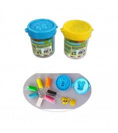 Набор для лепки из теста Color Puppy с формочкой 7 цветов