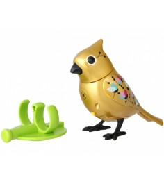 Золотая птичка с кольцом Digibirds 88409