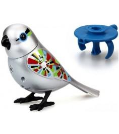 Серебряная птичка с кольцом Digibirds 88410S