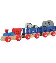 Поезд Eichorn с 2 вагонами и животными 100001351