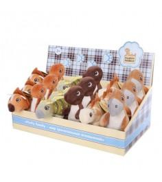 Мягкая игрушка Fluffy Family 15см динозаврик дисплей 681406