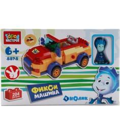 Детский конструктор Город Мастеров Фиксики Машина Нолика BB-8878-R
