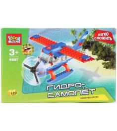 Детский конструктор Город Мастеров Гидро Самолет BB-8887-R