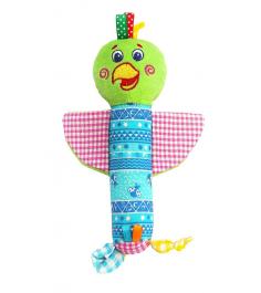 Мягкая развивающая игрушка Macik Попугай Шалун MKP 3101-02