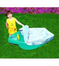 Детская песочница бассейн Лодочка Marian Plast 311
