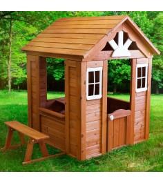 Деревянный домик Можга Солнечный Р910
