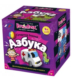 BrainBOX азбука 90720