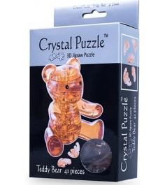 Crystal puzzle мишка янтарный 90214