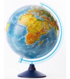 Globen Земли физический рельефный 320