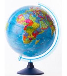 Globen Земли политический рельефный 320