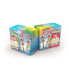Лизун Инновации для детей цветные червяки и лизуны артикул 827
