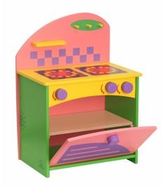 Набор кукольной мебели Краснокамская игрушка Газовая плита КМ-06