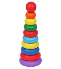 Пирамидка Краснокамская игрушка Кольцевая новая ПИР-10