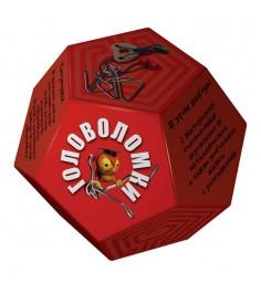 Набор головоломок додекаэдр красный Новый формат 80318