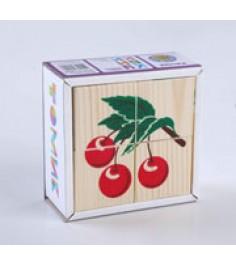 Томик фрукты ягоды 4 штук 3333-2