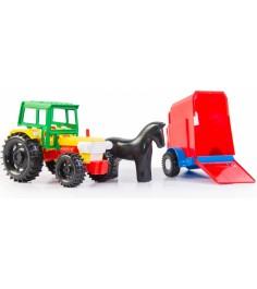 Трактор Wader С прицепом 39215