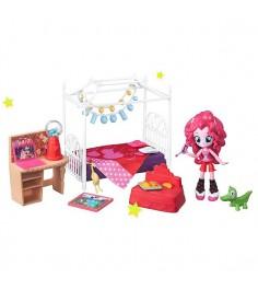 Equestria Girls Игровой набор мини-кукол Пижамная вечеринка в ассортименте My Little Pony B8824
