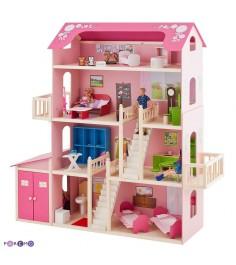 Деревянный домик для Барби PAREMO Нежность PD316-01