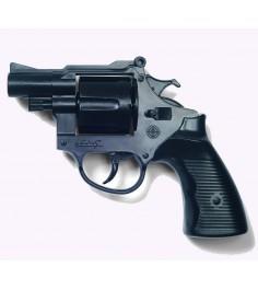 Игрушечный пистолет Edison с глушителем Американский полицейски 22,1 см 0181/96