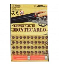 Пистоны Edison 40 штук и 2 гильзы Монтекарло 5040
