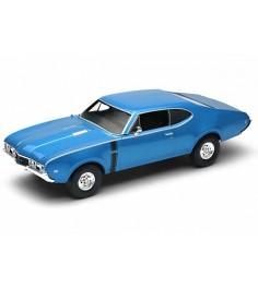 Модель винтажной машины Welly Oldsmobile 442 1968 43711