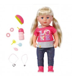Кукла сестричка 43 см Baby born 820-704