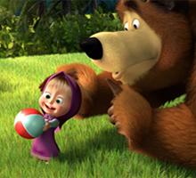 Игрушки маша и медведь