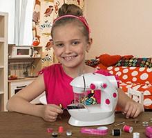 Детские швейные машинки