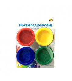 Смывающиеся пальчиковые краски 4 шт ABtoys A2684