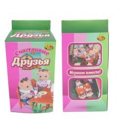 Игровой набор мебели для столовой Счастливые друзья ABtoys PT-00302
