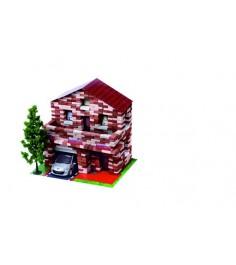 Конструктор дом с мансардой 805 дет л-03