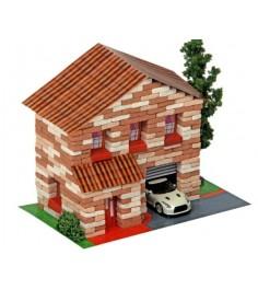 Конструктор двухэтажный домик 415 дет л-12.