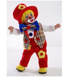 Виниловая кукла Arias elegance клоун Т59775