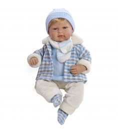 Виниловая кукла Arias elegance малыш Т59789