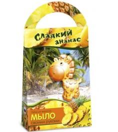 Мыло своими руками Аромафабрика сладкий ананас с формочкой жираф С0205