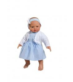 Кукла popo в голубом платьице 36 см Asi 2394030