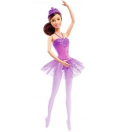 Кукла Barbie балерина в фиолетовом DHM43