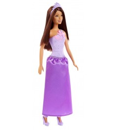 Кукла Barbie принцесса в сиреневом DMM08