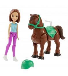 Кукла Barbie в движении пони и кукла FHV62