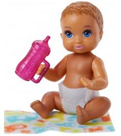 Кукла Barbie ребенок и набор аксессуаров FHY78