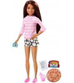 Кукла Barbie няня FHY92